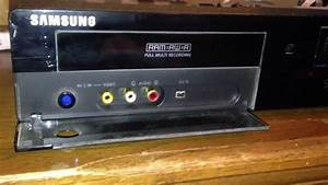 Samsung Vcr With Hdmi Output Plus A Dvd Ram Recorder