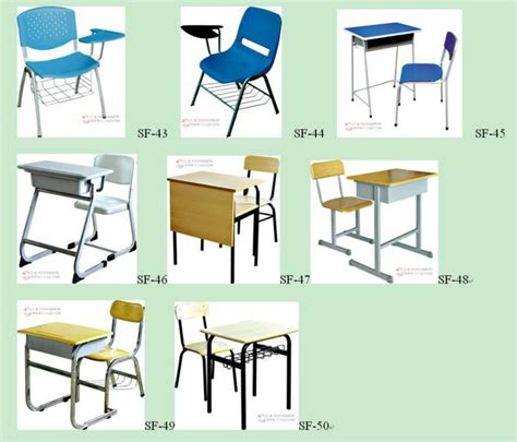 strong modern school desk and chair used school desks for