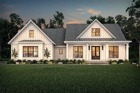 Walden House Plan in 2020 (With images) Farmhouse style