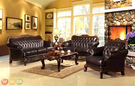 Queen Anne Living Room Set