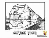 Train Coloring Pages Amtrak Sheet Real Trains Printable Drawing Yescoloring Sheets Outline Speed Wheels Steel Print Printables Subway Boys Template sketch template
