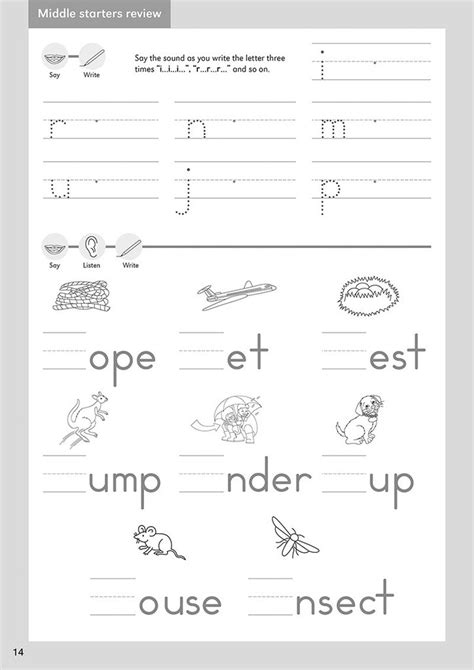 grade  handwriting practice letterland usa