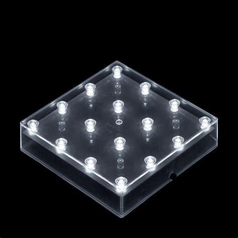 square led lights 5 inch square led lightbase battery operated light base