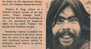 An Amazing Stephen King Book Announcement from College ...