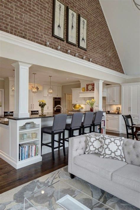 41 beautiful living room and kitchen decorating ideas
