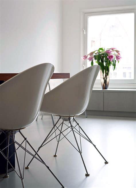 modern white plastic chairs design interior design ideas