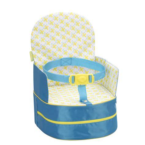 rehausseur de chaise nomade réhausseur de chaise nomade bleu de badabulle sur allobébé