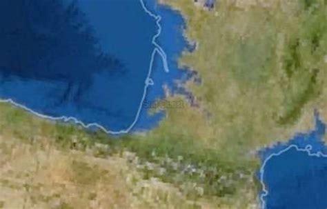 mont 233 e des eaux en cas de fonte des glaces adieu bordeaux la rochelle et bayonne