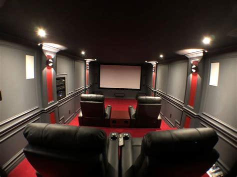 diy home theater  stadium seating projector