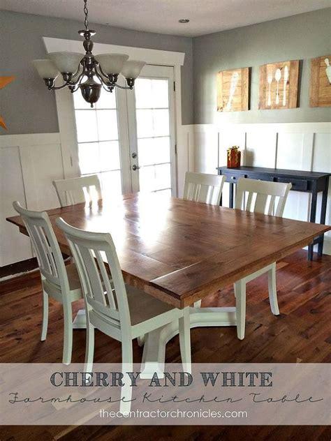 white farmhouse table ideas  pinterest