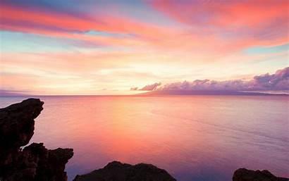 4k Ocean Sky Clouds Cliffs 1144 Rocks