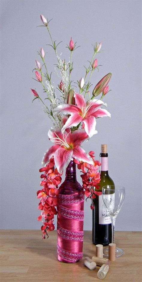 Pink Stargazer Lily Floral Arrangement In Pink By