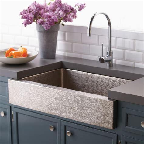 kitchen sink with paragon single basin farmhouse kitchen sink native trails