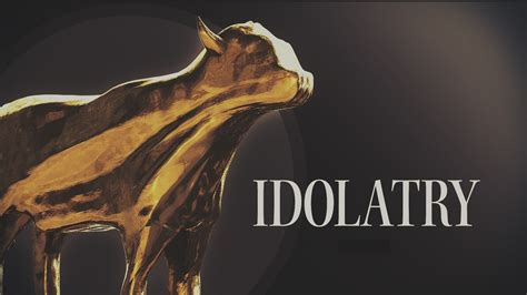 thou in modern modern day idolatry 1 the christian project
