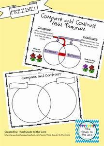 Freebie  Compare And Contrast Venn Diagram With Classroom