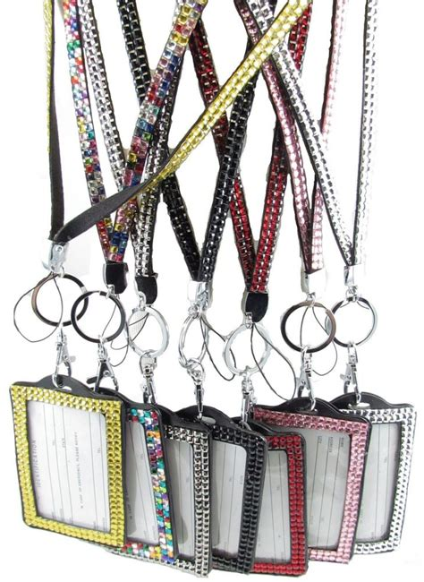 rhinestone crystal bling necklace keychain cell phone