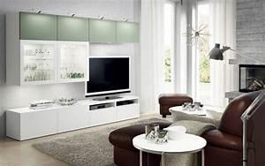 Ikea Wohnzimmer Schrankwand : besta wohnwand ideen ~ Michelbontemps.com Haus und Dekorationen