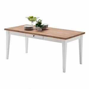 Esstisch esszimmertisch tisch landhausstil 180x90 cm for Tisch landhausstil weiß