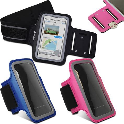 iphone holder for running fosmon for iphone 6 6s 4 7 sports armband running