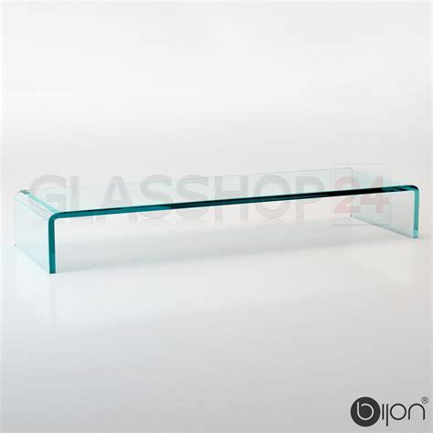 tv tisch glas tv glasaufsatz glas tisch tv aufsatz monitor erh 246 hung lcd glasb 252 hne podest ebay
