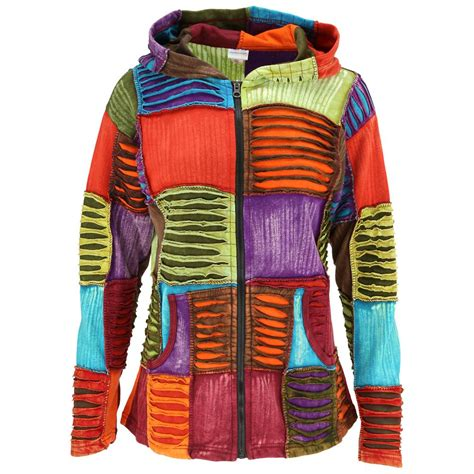 many colors coat of many colors patchwork jacket the rainforest site