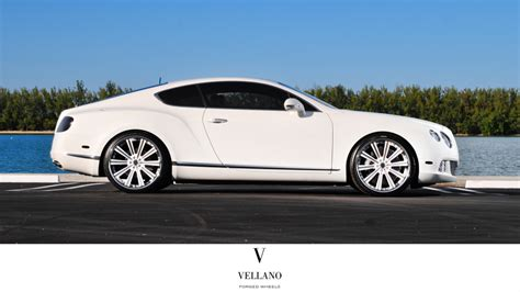 bentley custom rims bentley continental gt custom wheels vellano vti 22x9 5