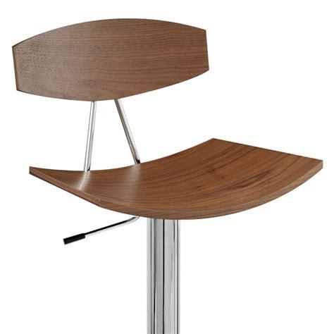 chaises de bar en bois chaise de bar bois chrome blade noyer monde du tabouret