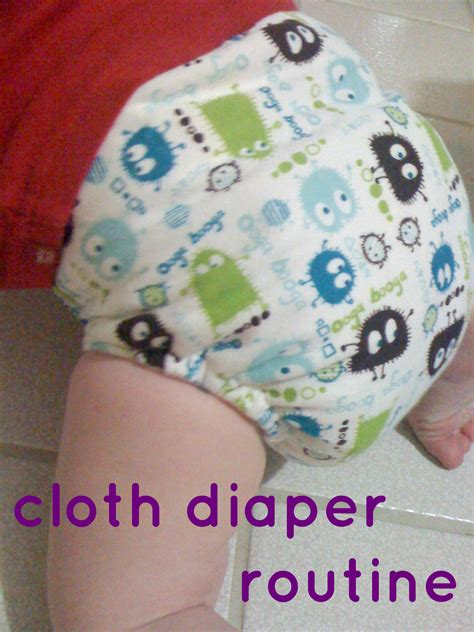 Our Cloth Diaper Routine Baby Dickey Chicago Il Mom