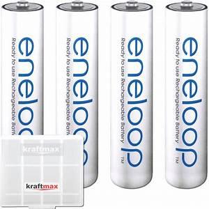 Aaa Batterien Kapazität : 4 eneloop micro aaa akkus in box panasonic akku batterien neueste version 4051287052240 ebay ~ Markanthonyermac.com Haus und Dekorationen