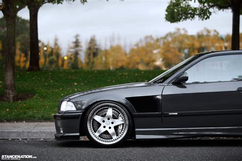 bmw stanced more than meets the eye lawrence 39 s beautiful bmw e36