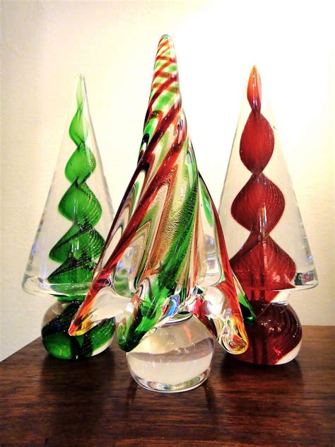 venetian glass christmas tree murano glass trees glass from venice italy glass tree