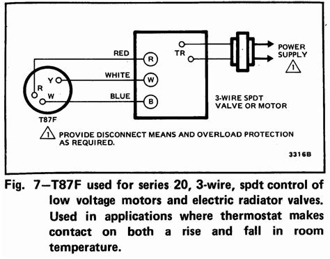 Honeywell Thermostat Wiring Diagram Wire