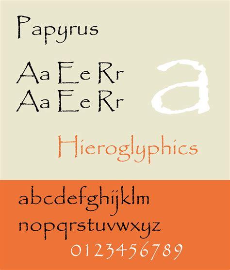 papyrus typeface wikipedia