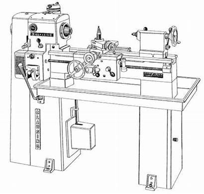 Lathe Clausing Metal Manual Series Instruction Spd