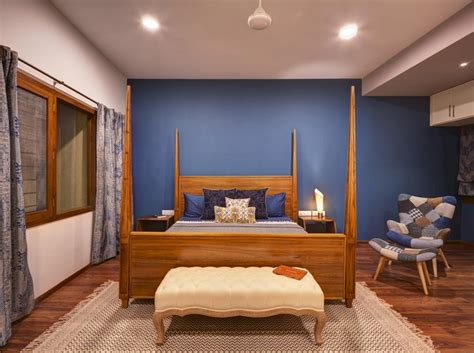Bedroom Paint Ideas India by 6 Unique Bedroom Wall Paint Colours That Work For Indian Homes