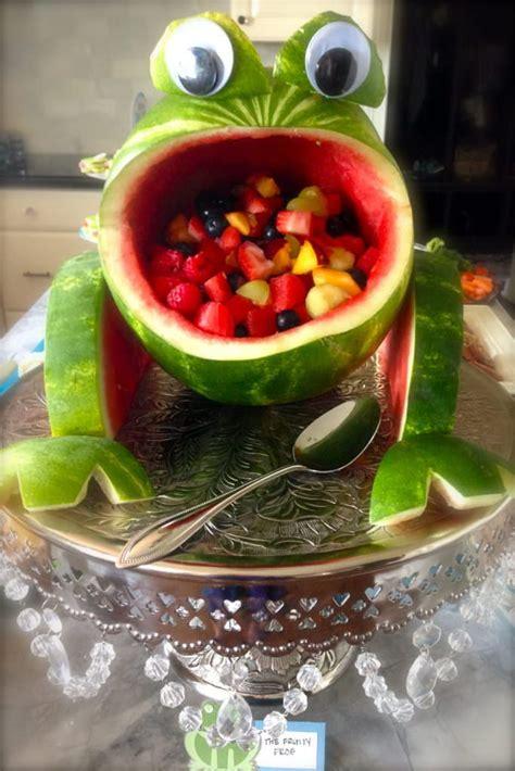 creative watermelon fruit salads food curation