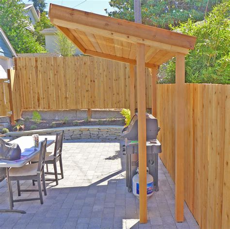 wooden bbq cover olander garden design articles seattle landscape design
