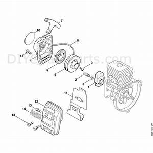 Stihl Ht 70 Pole Pruner  Ht70  Parts Diagram  B