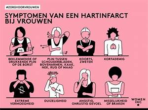 hart vrouwen symptomen