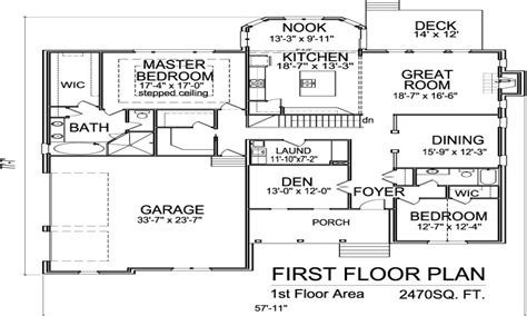 2 Story House Floor Plans With Basement 2 Story House 1