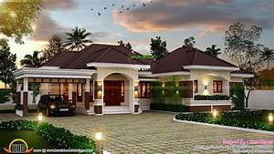 Outstanding bungalow in Kerala - Kerala home design and