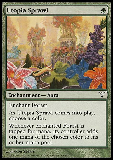 mtg modern decks tapped out utopia sprawl mtg card