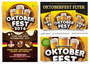 Oktoberfest Flyer Template by dennybusyet on DeviantArt