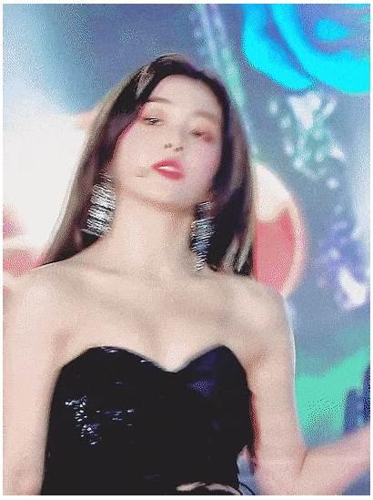 Outfits Irene Gayo Stage Sbs Daejun Velvet