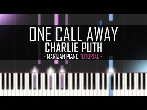 play charlie puth  call  piano tutorial