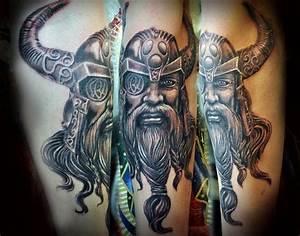 Viking Odin tattoo | Tattoos | Pinterest | Sleeve, Thor ...