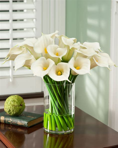 calla lily table l calla lily extravaganza silk arrangement 189 silk