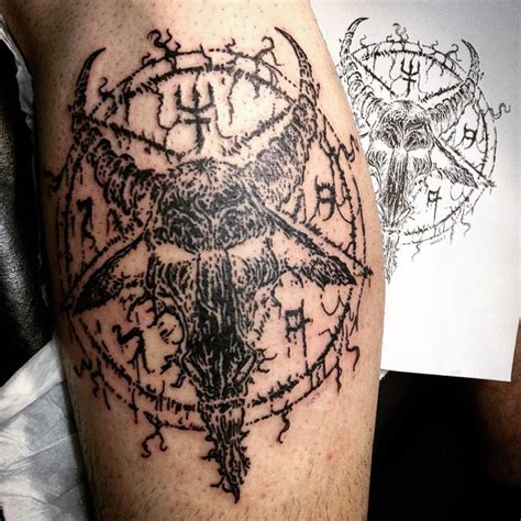 Satanic Tattoos  Wwwimgkidcom  The Image Kid Has It