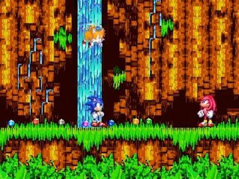 sonic  hedgehog  part  angel island zone sonic