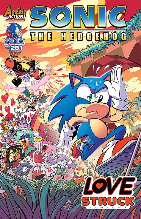Sonic the Hedgehog #281 Preview